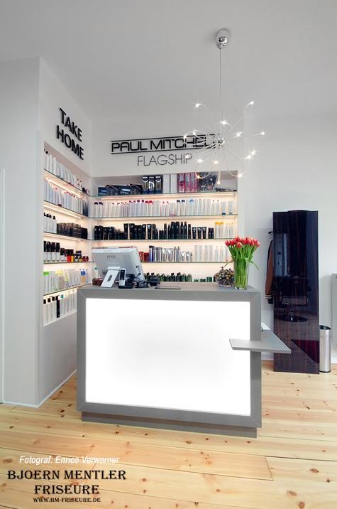Arbeitschritt Lieferung Aufbau Und Übergabe An Kunden Bjoern Mentler Friseure Berlin
